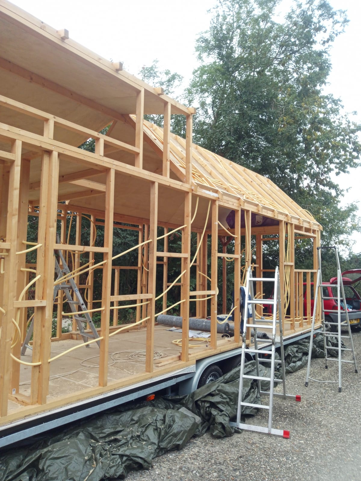 Elektriciteit in ons Tiny House
